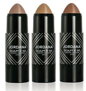 JORDANA - SCULPT N' GO CREAMY CONTOUR STICK - Pick Any Shade.