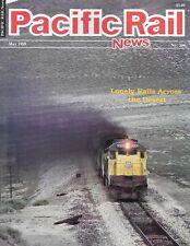 Pacific Rail News 306 1989 Reno Train Union Pacific Winnemucca Nacoozari D&RG UP