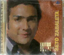 Beto Zabaleta Exitos De Oro Volume 2 Latin Music CD New