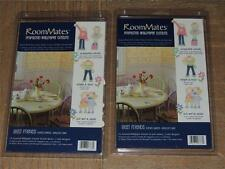 LOT OF 2 RoomMates BEST FRIENDS WALLPAPER CUTOUTS FLOWERS GIRLS DAISIES 48 TOTAL