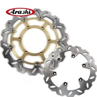 For Suzuki DRZ400SM 2005 - 2009 2006 DRZ SM 400 Front Rear Brake Disc Rotors Set