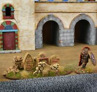 Roman Roadside Graves  Painted 28mm