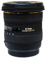 Sigma 10-20mm F4-5.6 HSM DC Lens For Canon, Boxed