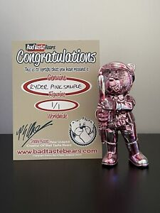 Bad Taste Bear - Pink Ryder - Prototype Product Sample - Only One In Existence!