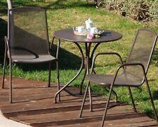 Tavolo tondo per esterno in metallo diametro 70 arredo giardino