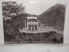 Vecchia cartolina foto d epoca di Sestriere Albergo Principi di Piemonte scorcio