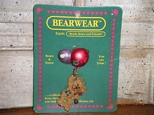 Boyds Bears 1999 ~Milo.Up, Up, And Away~ Bearwear Pin Style#26116