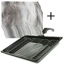 INDESIT Oven Cooker Grill Pan Handle Rack Insert Protective Grease Tray Pads
