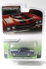 1:64 Greenlight Chevrolet Chevelle SS 1970 blue/white NEW bei PREMIUM-MODELCARS