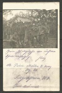 *OSBURGH - GERMANY. 1916. WW1. POSTCARD. LIGHTING / ILLUMINATION UNIT WITH EQUIP