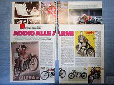 MOTOSPRINT993-RITAGLIO/CLIPPING/NEWS-1993-LA STORIA DELLA GILERA-4 fogli