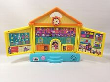Dora The Explorer Interactive Talking Bilingual School House Educational Toy