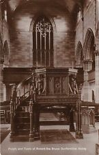 Pulpit & Tomb Of Robert The Bruce Inside The Abbey, DUNFERMLINE, Fife RP