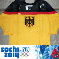 Official Hockey Jersey Germany Olympic Team Sochi Russia 2014 Size S