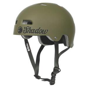 SHADOW CONSPIRACY CLASSIC HELMET 2XL BMX BIKE ARMY GREEN AUTHORIZED DEALER NEW