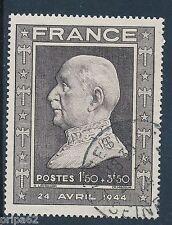 CO - TIMBRE DE FRANCE N° 606 oblitéré