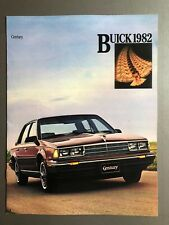 1982 Buick Century Showroom Advertising Sales Brochure RARE!! Awesome L@@K