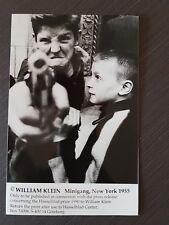 fotografia William Klein minigang new York 1955 19.6x12x6 cm come da descrizione