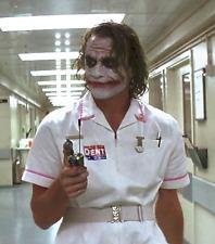 The Joker Batman Dark Knight Nurse Dress Uniform Costume Halloween Fancy Dress
