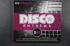 Disco Anthems - 3x CD 60 tracks - Candi Stanton, Chaka khan (C467)