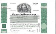 ELECTRONIC DATA SYSTEMS CORPORATION....2002 COMMON STOCK CERTIFICATE