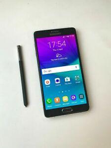 Pristine, Grade A Samsung Galaxy Note 4 SM-N910F - 32GB - Black (EE) Smartphone