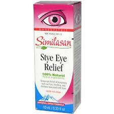 Similasan Stye Eye Relief Drops, 0.33 Ounce  + Makeup Sponge