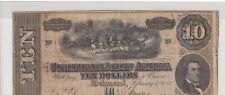 $10 Confederate 1864 Csa