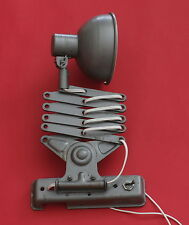 Vintage Russian Industrial Machine Age Scissor Extension Wall Lamp  1960's - 12V