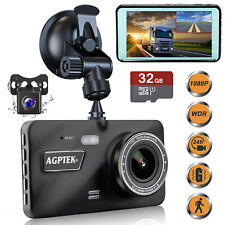 4inch Vehicle Dash Cam HD 1080P Car Dashboard DVR Camera Video Recorder G-Sensor