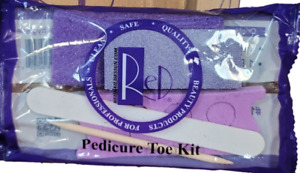 Red Pedicure Pumice Kit