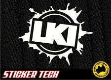 LKI MUD SPLAT LOOSEKID INDUSTRIES LOOSE KID STICKER DECAL TO SUIT MOTOCROSS FMX