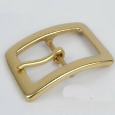 New Solid Brass Belt Buckles 40mm DIY Leathercraft BCR017  Freeshipping