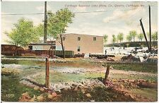 Superior Lime Stone Company Quarry in Carthage MO Postcard