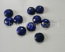 AAA Quality 25 Pieces Sapphire 6X6 mm Round Rose Cut Loose Gemstone