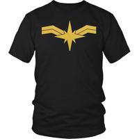 Captain Marvel Shirt Men Women Costume Unisex Captain Marvel Powers Marvel Shirt