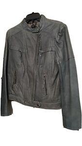 Oasis Biker Jacket Grey Amy Pond Doctor Who Cosplay