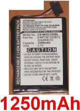 Batterie 1250mAh type 027260EOC E4MT081202B12 Pour CLARION MAP 770