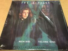 X-Files: Wetwired/Talitha Cumi Laserdisc Duchovny Anderson SEALED BRAND NEW