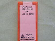 Gewindeplatten von CPT, 16EL 0,8 ISO MXC