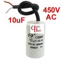 10uF 450V Condensateur demarrage