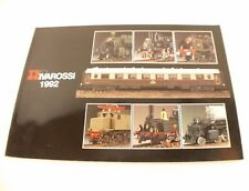 Rivarossi catalogue 1992 HO locomotive train 158 pages