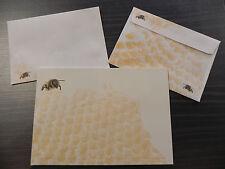1 Block Briefpapier,25 Bl.,DIN A5,Bienen,Imker,Imkerei,Biene+Umschläge,Biene