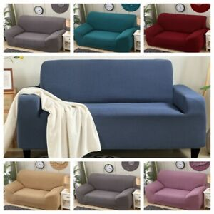 1/2/3/4 Seater Elastic Waterproof SOFA COVERS STRETCH Slipcover Protector Settee
