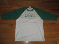 Majestic BOSTON RED SOX (LG) Baseball Jersey Shirt St Patrick's Day IRISH