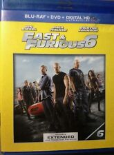 Fast  Furious 6 (Blu-ray/DVD, 2013, 2-Disc Set, Canadian)