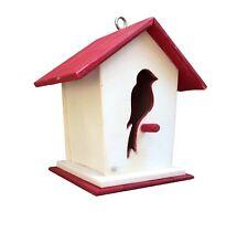 Casetta per uccellini, mangiatoia uccelli, mangiatoia in legno, casetta uccellin