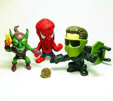 Marvel Legends Hero Figure Statue Model Spider-Man + Harry + Norman S17_18_19