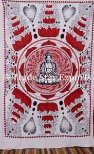 Meditation Tapestry Lord Buddha Wall Hanging Hippie Wall Decor Psychedelic Art