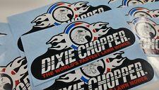 Dixie Chopper Rear Guard Decal 8.8 inches wide